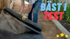 Bästa Fiberduk för Gräsmatta 2021 - Stort Test av Fiberdukar