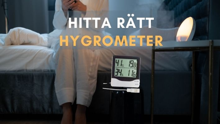 Bästa Hygrometer 2021 - Bäst i Test & Fakta